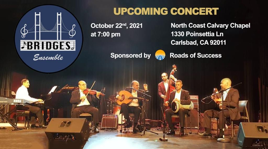 ROS sponsers Middle East music night by Bridges Ensemble