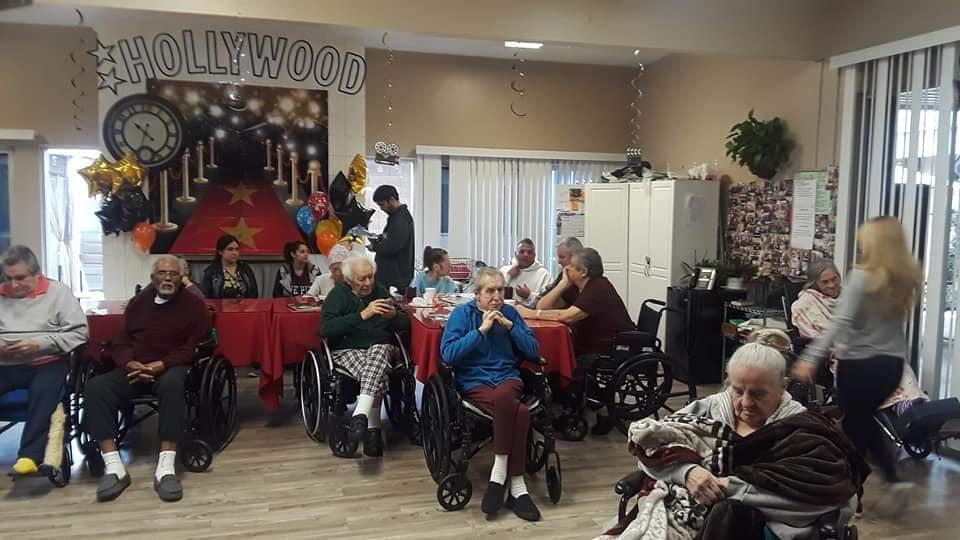 ROS work in USA helping elderly people