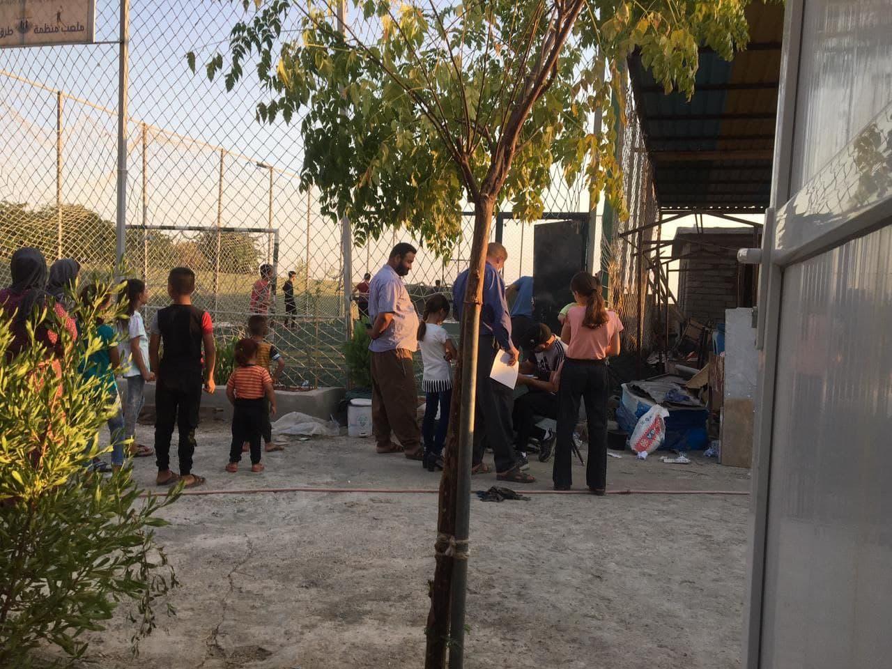 Clinic in Iraq